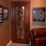 California Wine Cellars & Oak Barrel Flooring – Coto de Caza - Falcon Ridge Custom Project