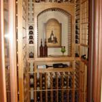 Small Residential Custom Wine Cellar Design Conversion Orange County Laguna Hills