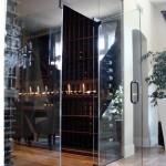 California Glass Wall Show Case Wine Cellar