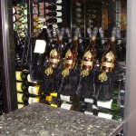 Commercial Custom Wine Cellars Orange County California - Capital Seafood Irvine