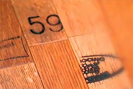 Wine Barrel Flooring with the Cooperage