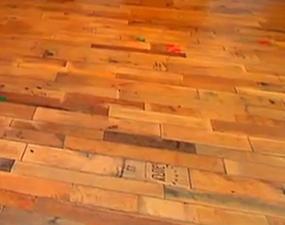 Attractive Wine Barrel Flooring