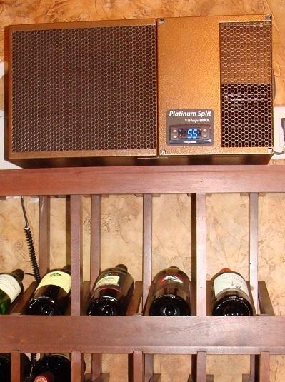 WhisperKOOL Split Wine Cellar Cooling System