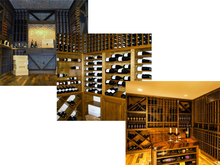Various Wine Cellars by Coastal