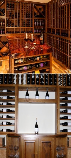 Custom Wine Cellars by Coastal