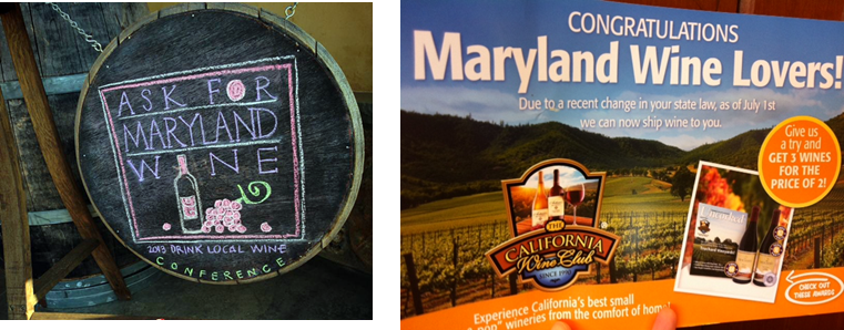 The Growing Wine Industry in Maryland
