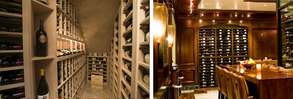 Residential Custom Wine Cellar CA