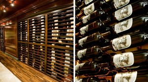 Wine Cellar with WIne Collection