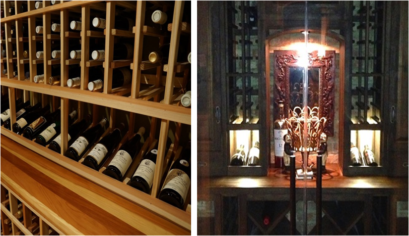 wine cellar tabletops