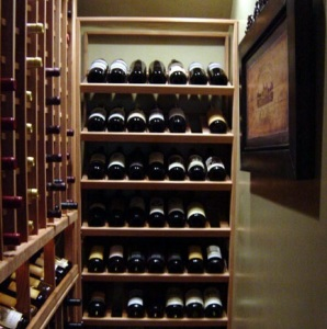 Wines in a Cellar