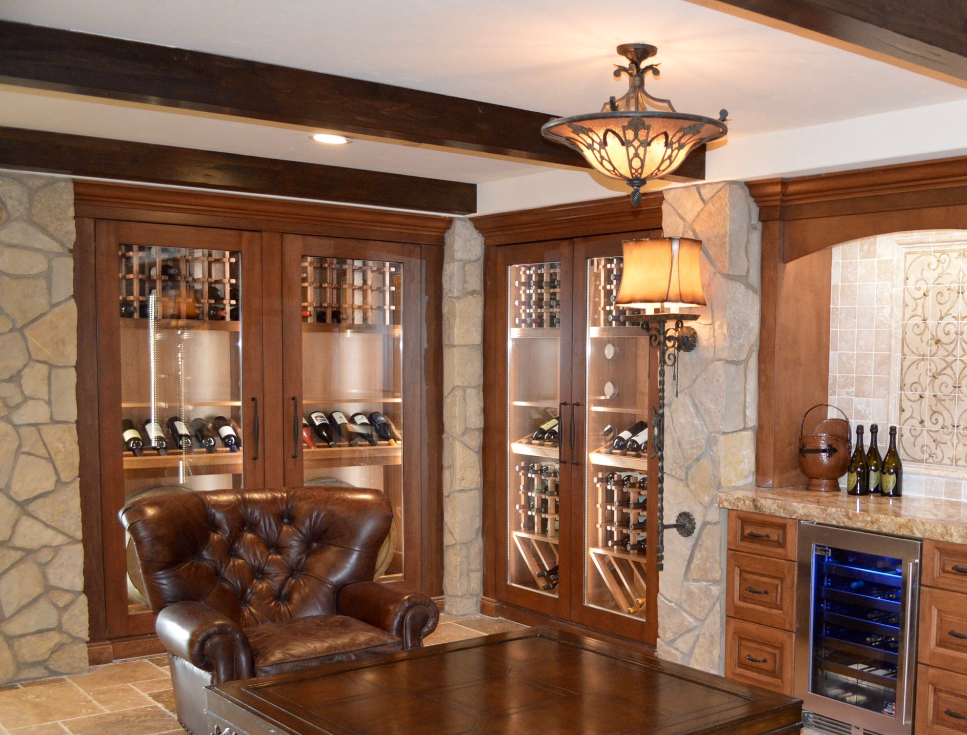 Arctic Metalworks Inc. recently worked with a client who owned four gorgeous custom wine cabinets in a luxury home in Laguna Beach, Canada. The HVAC experts had to find the best refrigeration equipment that could cool the wine storage structure.