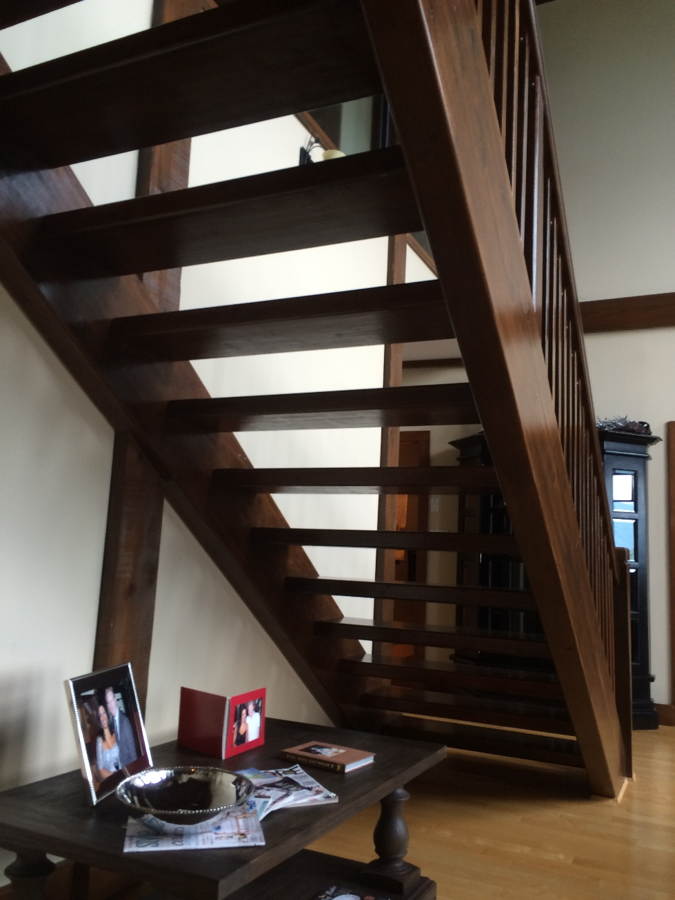Open Staircase Before The California